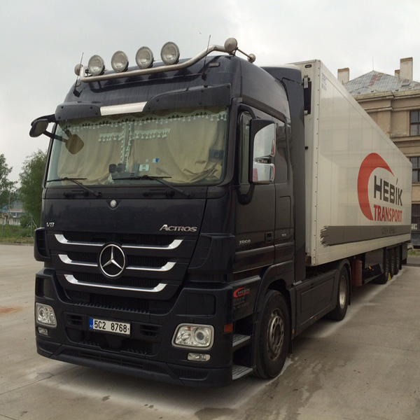Merdedes-Benz Actros 1860 MP3